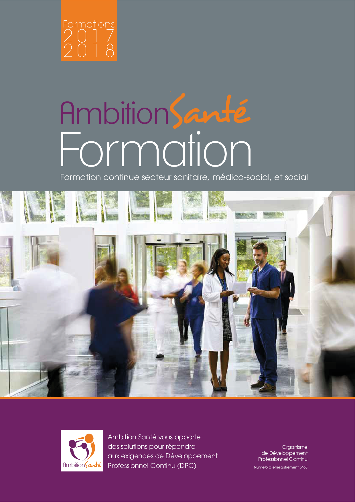 Catalogue Ambition Sante 2017-2018